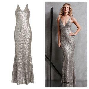 Dress the Population Harper Mermaid Sequin Gown